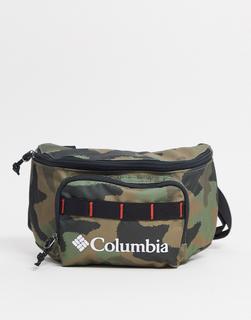 Columbia - Zigzag – Hüfttasche mit Military-Muster-Grün