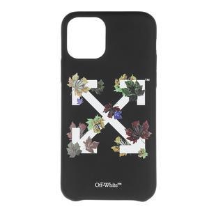 Off-White - Smartphone Case - Arrow Stamp IPhone 11 Pro Case Black White - in schwarz - für Damen