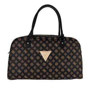 guess - Reisetasche - Wilder Duffle Brown - in schwarz - für Damen