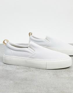 Topman - Sneaker-Slipper in Blau & Weiß
