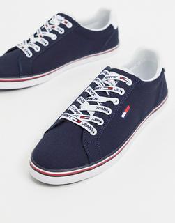 TOMMY HILFIGER - Sneaker in Navy zum Schnüren