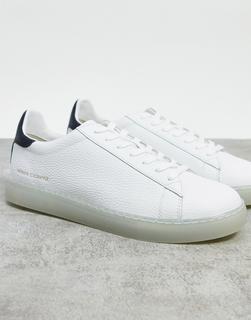 Armani Exchange - Schlichte Sneaker in Weiß mit Logo