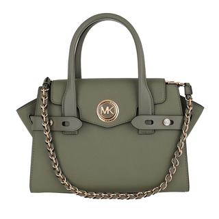 MICHAEL KORS - Tote - Carmen Small Flap Satchel Bag Army Green - in grün - für Damen