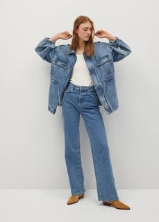 MANGO - Oversized-jeansjacke
