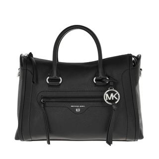 MICHAEL KORS - Tote - Carine Medium Satchel Bag Black - in schwarz - für Damen