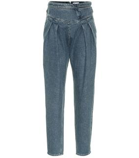 REDValentino - High-Rise Jeans
