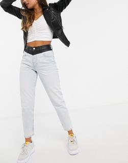 Calvin Klein Jeans - Blaue Mom-Jeans