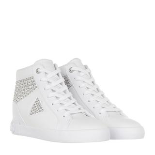 guess - Sneakers - Peetur Bootie Leather White - in weiß - für Damen