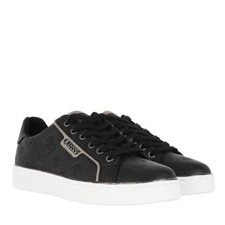 guess - Sneakers - Banq Active Lady Leather Like Black - in schwarz - für Damen