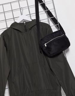 Brave Soul - Leichte Kapuzenjacke mit Reißverschluss-Grün