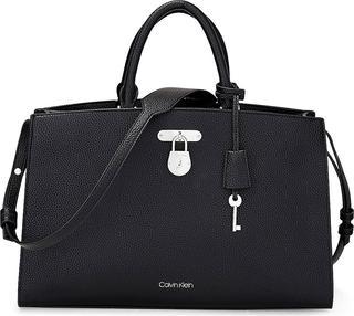 Calvin Klein - Handtasche Dressed Business in schwarz, Henkeltaschen für Damen