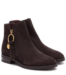See by Chloé - Verzierte Ankle Boots Louise