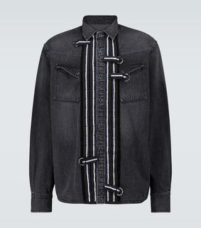 Sacai - Hemdjacke aus Denim