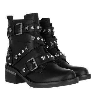guess - Boots - Fancey Bootie Leather Black - in schwarz - für Damen