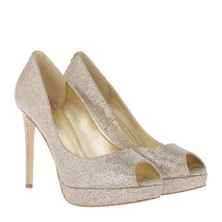 MICHAEL KORS - Pumps - Erika Platform Silver / Sand - in gold - für Damen - 100.00 €