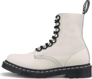 DR. MARTENS - Schnür-Boots 1460 Pascal Hardware in weiß, Boots für Damen