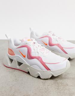 Nike - Ryz 365 – Sneaker in gebrochenem Weiß ind schillerndem Rosa