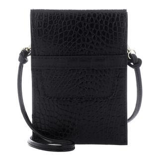 abro - Umhängetasche - Phone Case Camilla Black - in schwarz - für Damen