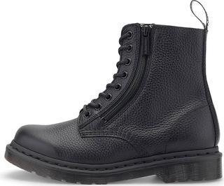 DR. MARTENS - Schnür-Boots 1460 Pascal With Zip in schwarz, Boots für Damen