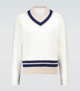Maison Margiela - Pullover aus Baumwolle