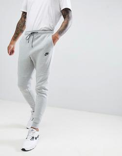 Nike - Tech – Graue Fleece-Jogginghose