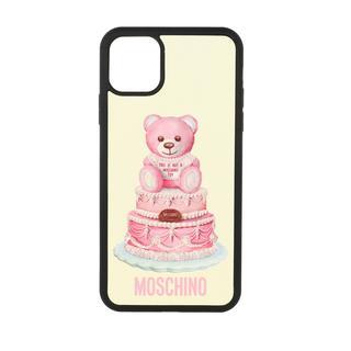 Moschino - Smartphone Case - iPhone 11 Pro Max Cover Fantasia Fuxia - in bunt - für Damen