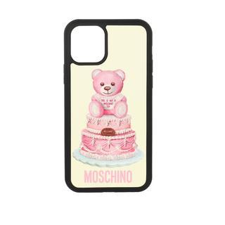 Moschino - Smartphone Case - iPhone 11 Pro Cover Fantasia Fuxia - in bunt - für Damen