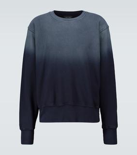 Les Tien - Batik-Sweatshirt aus Baumwolle