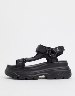 Koi Footwear - Schwarze Sandalen