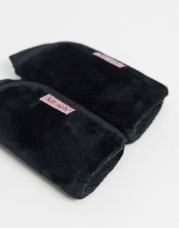 Kitsch - Mikrofaser-Tücher zur Make-up-Entfernung, Schwarz-Keine Farbe