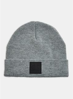 Topman - Mens Champion Charcoal Grey Beanie, GREY