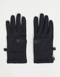 THE NORTH FACE - Etip– Schwarze Handschuhe aus recycelten Materialien