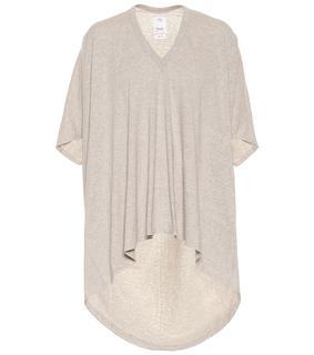 VISVIM - Asymmetrisches T-Shirt aus Baumwolle