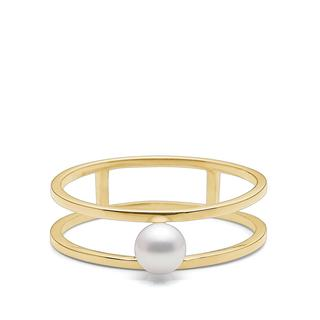 Charlotte Lebeck - Ring - Coco Ring Yellow Gold - in gelbgold - für Damen