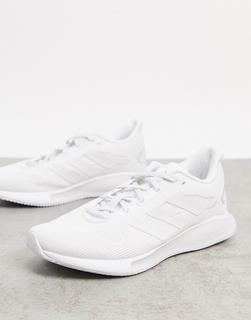 adidas Performance - adidas Running – Galaxar– Sneaker in Weiß