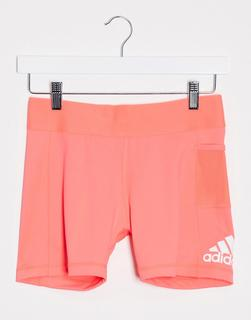 adidas Performance - adidas – Training – Booty-Shorts in Rosa