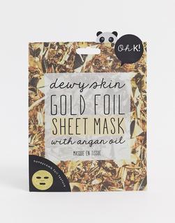 Oh K! - Goldene Folien-Maske-Keine Farbe