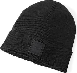 Boss - Strickmütze Foxxy in schwarz, Mützen & Handschuhe für Herren