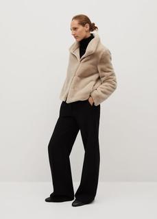 MANGO - Jacke aus kunstpelz