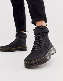 DR. MARTENS - Combs Tech – Schwarze Ankle Boots im Utility-Stil