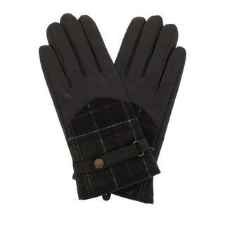 Barbour - Handschuhe - Dee Tartan Gloves Dark Brown - in braun - für Damen