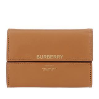 Burberry - Portemonnaie - Bifold Wallet Leather Nutmeg - in cognac - für Damen