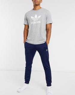 adidas Originals - Essentials – Enge Jogginghose inMarine-Navy