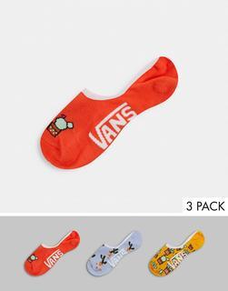 Vans - Desert Vibe Canoodle – Bunte Socken im 3er-Pack-Mehrfarbig