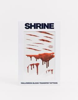 The Shrine - Shrine– Halloween –Blood–Transfertattoos-Rot
