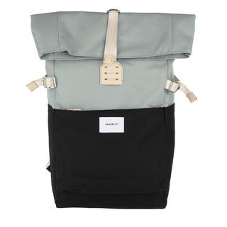 Sandqvist - Rucksack - Ilon Backpack Leather Multi Grey Black - in bunt - für Damen