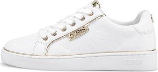 guess - Leder-Sneaker Banq in weiß, Sneaker für Damen
