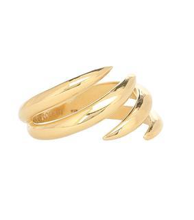 Alan Crocetti - Vergoldeter Ring Shard aus Sterlingsilber