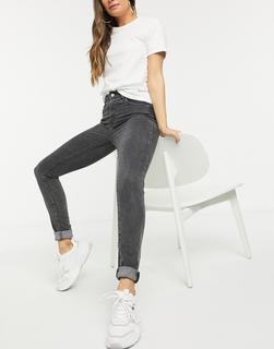 Levis - Levi's – 721 – Enge Jeans mit hohem Bund in verwaschenem Schwarz