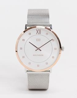 TOMMY HILFIGER - Sloane – Zweifarbige Armbanduhr-Silber